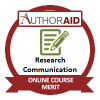 AuthorAID Research Communication Online Course (Oct to Nov 2017) - Merit Grade