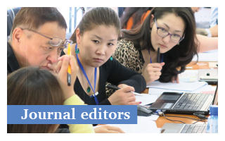 Journal editors