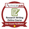 Star Guest Facilitator - AuthorAID Online Course in Research Writing (Oct to Nov 2015)
